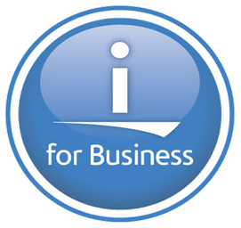 i for Business Logo